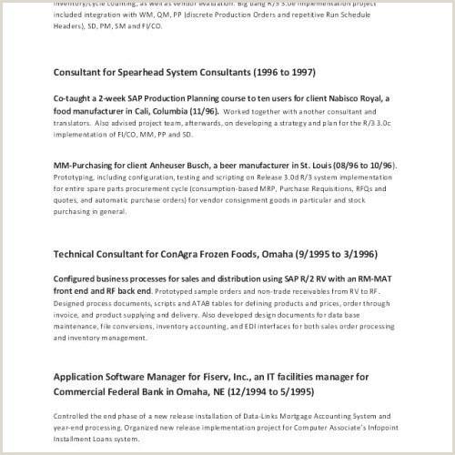 Sql Developer Resume Sample New Sql Resume Sample Best Sql