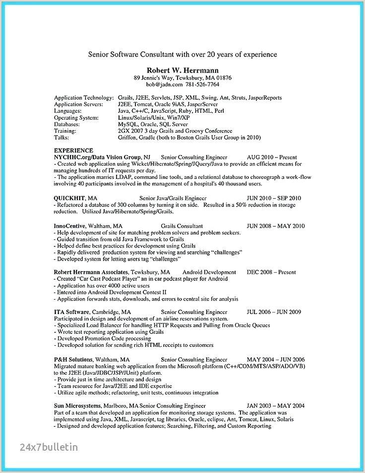 xml resume example – wikirian