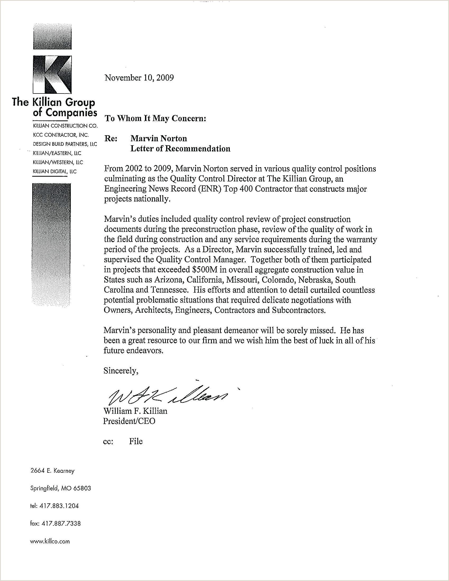 Sample Childcare Reference Letter Sample