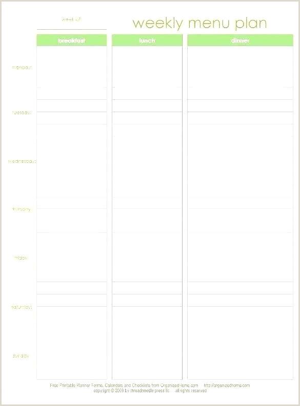 Daycare Schedule Template Preschool Menu Template Sample Daycare Menus Preschool Menu