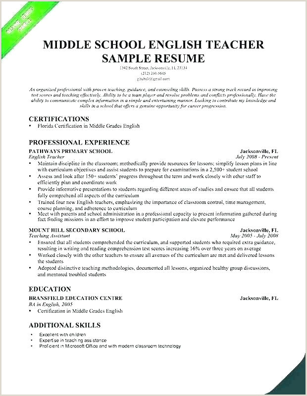 Daycare Skills for Resume Resumes for Preschool Teachers – Emelcotest