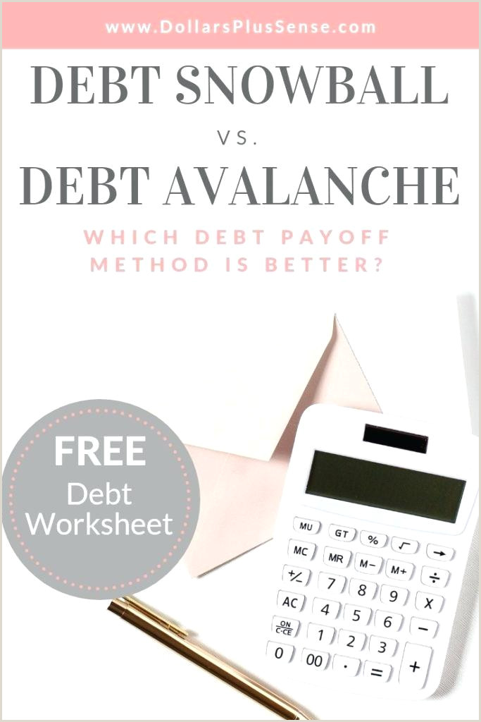 Free Debt Snowball Worksheet The Excel Calculator – lapos