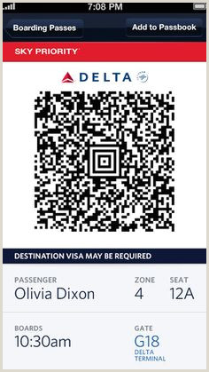 Delta Boarding Pass Template 8 Best Airport Party Images