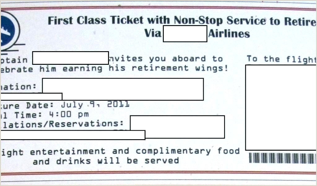 Free Airline Ticket Template Invitation Boarding Pass