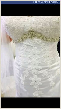 Used Plus Size Wedding Gown for sale in Watauga letgo