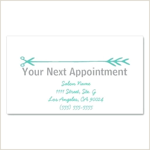 Business Card Appointment Template Dental Reminder