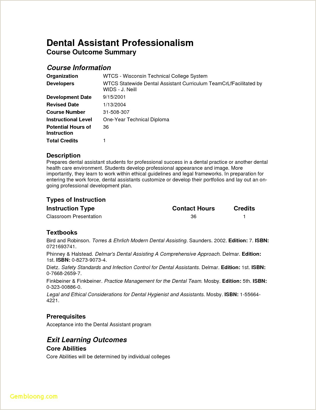 9 New Graduate Dental Assistant Resume