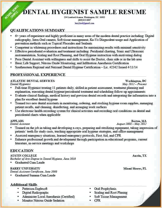 dental hygienist resume samples – growthnotes