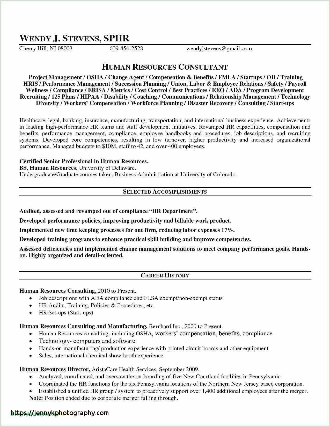 Physical therapy Resume New Grad Elegant Sample Physical
