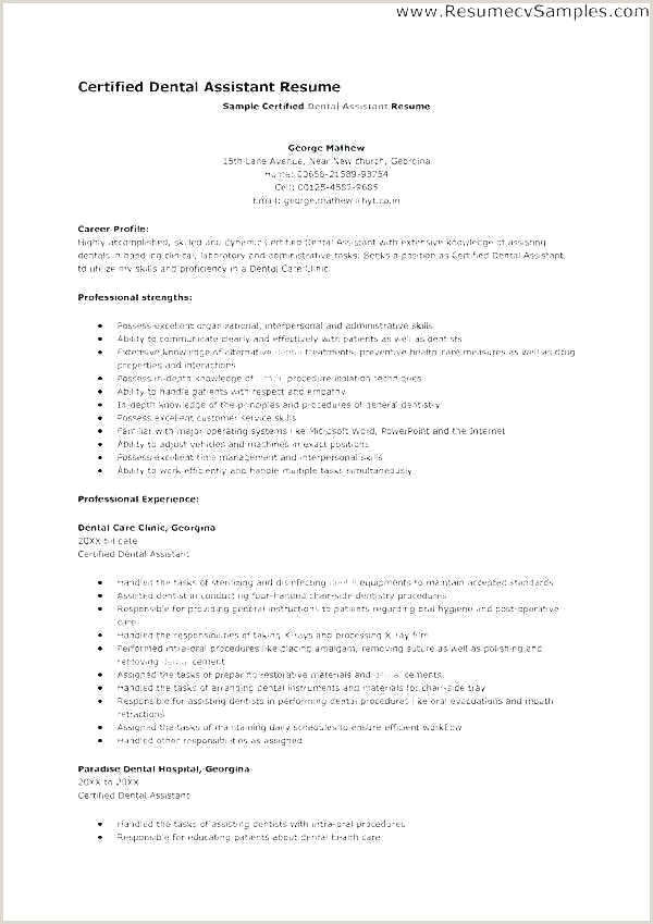 Dental Technician Lab Objective Examples Laboratory Resume