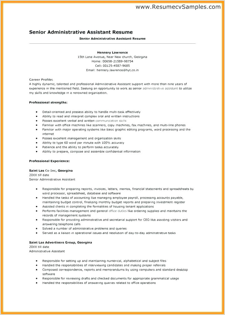 Resume Objective For fice Work