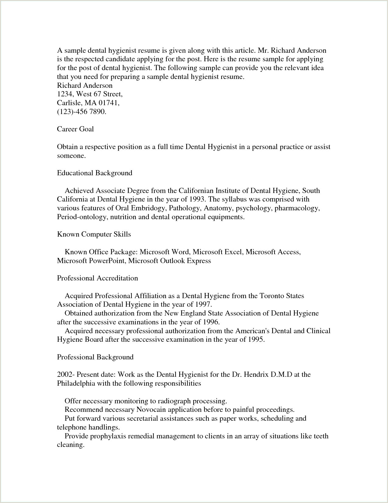 Dental Hygienist Resume Hairstyles Dental assistant Resume Very Good Nurse