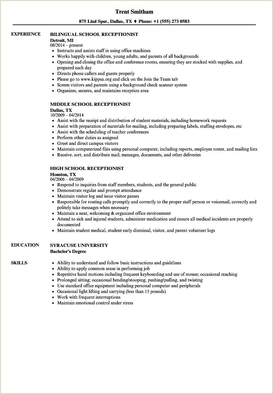 10 dental receptionist resume samples