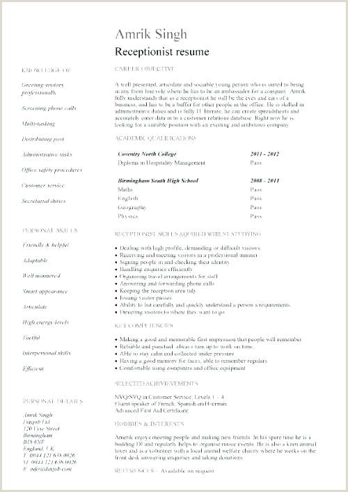 Receptionist Job Description Resume Sample Sample A Job