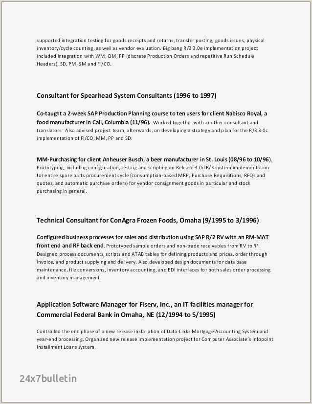Department Manager Resume Examples Awesome Resume for Department Manager