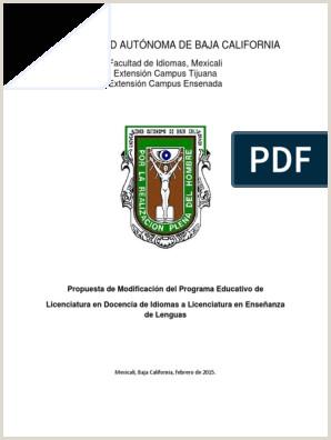 Plan de Estudios Lic en Ense±anza de Lenguas