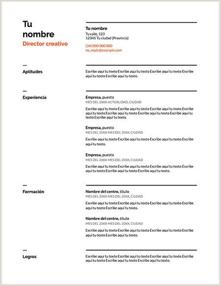 Descargar Curriculum Vitae Para Rellenar En Ingles ⃞▷ Descargar Plantilla Curriculum Vitae Suizo