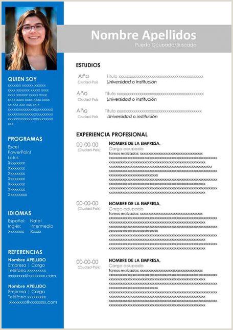 Descargar Curriculum Vitae Para Rellenar En Word Gratis Ejemplos De Hoja De Vida Modernos En Word Para Descargar