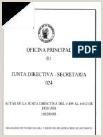Junta Directiva Del Banco de La Republica Acta Del Dia 8 de