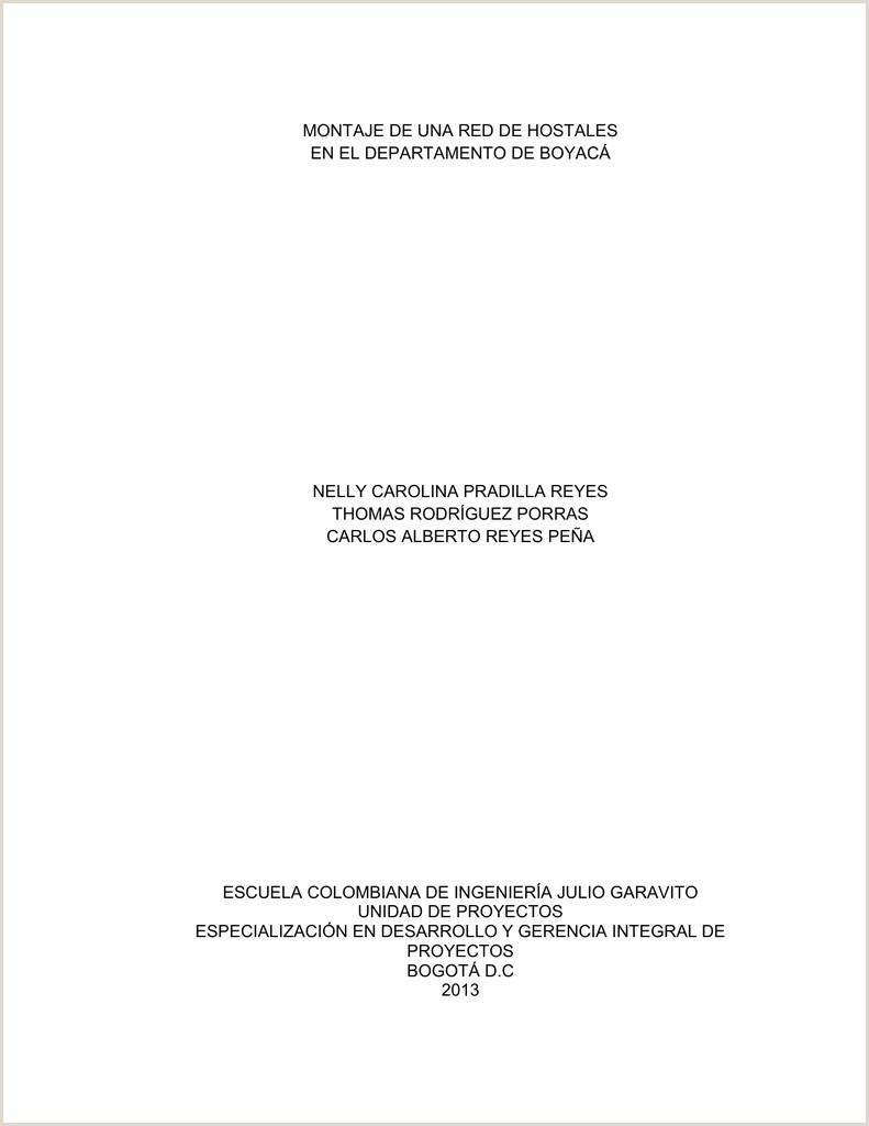 Descargar formato Hoja De Vida Bancolombia Montaje De Una Red De Hostales En El Departamento De Boyaca Pdf