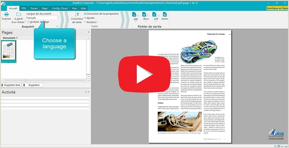 Readiris 17 software de conversi³n y edici³n de PDF