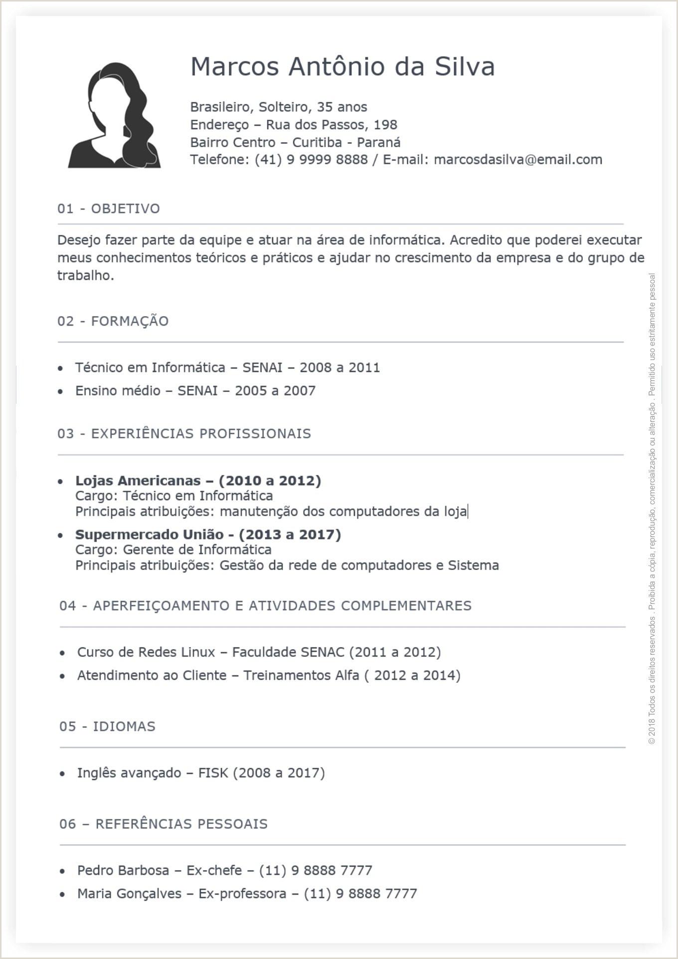 Formas De Curriculum Vitae Gratis Descargar Curriculum Vitae
