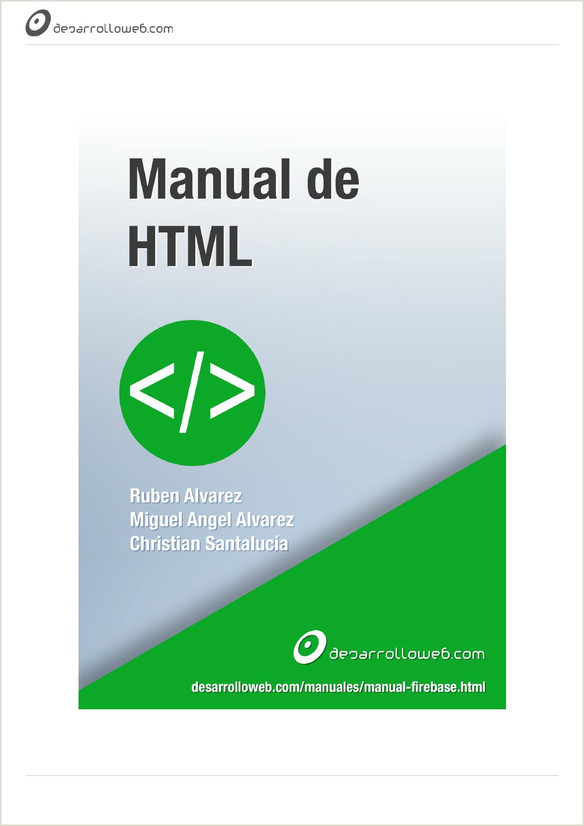 Descargar Hoja De Vida Censa Manual De HTML5