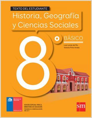 Historia geografa y ciencias sociales 8º básico texto del