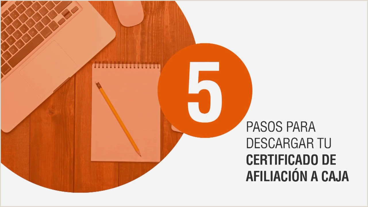 Descarga tu certificado de Afiliaci³n pensar