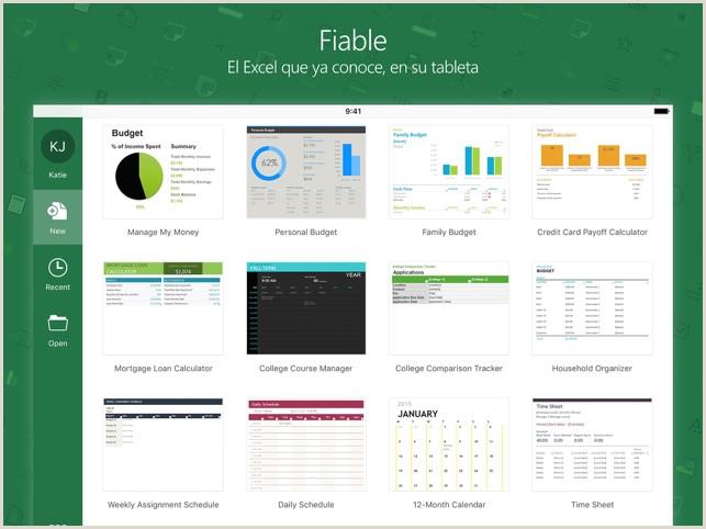 Microsoft Excel en App Store