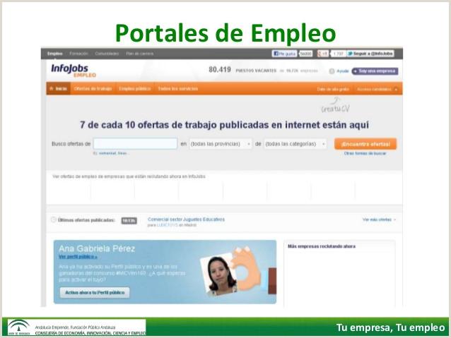 Internet Bºsqueda de empleo y Redes Sociales