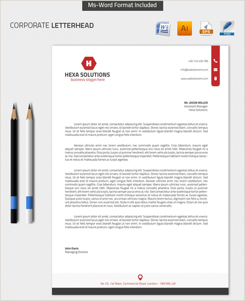 Descargar Hoja De Vida Corporativa En Word 25 Plantillas Profesionales De Membretes Modernos
