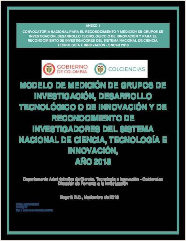 PDF ANEXO 1 CONVOCATORIA NACIONAL PARA EL RECONOCIMIENTO Y