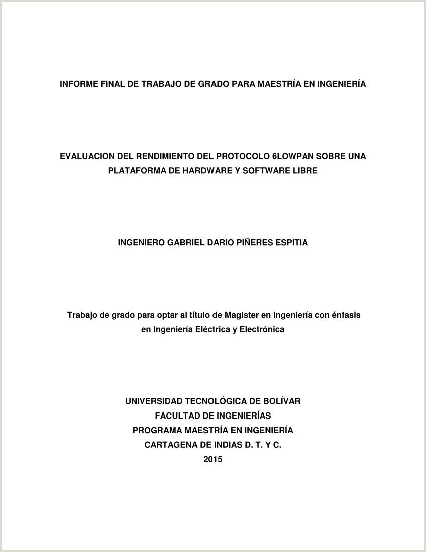 PDF EVALUACION DEL RENDIMIENTO DEL PROTOCOLO 6LOWPAN SOBRE