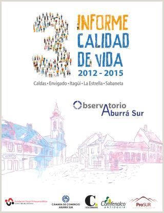 Descargar Hoja De Vida De Comfama Informe Calidad De Vida 2012 2015 Aburrá Sur by Aburrá Sur
