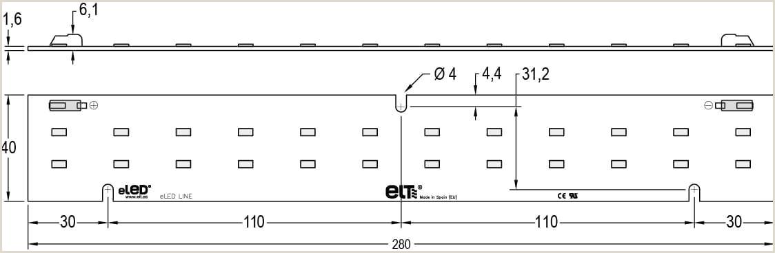 eLED LINE 1 1250
