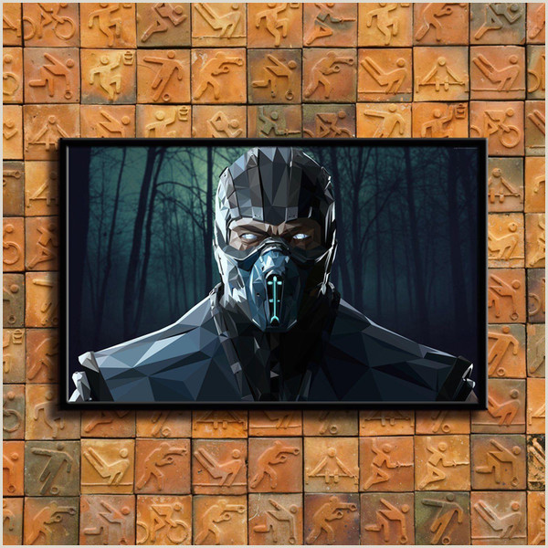 pre Mortal Kombat Home Decor HD Impreso Pintura De Arte Moderno Sobre Lienzo Sin Marco Enmarcado A $10 06 Del Zym1122