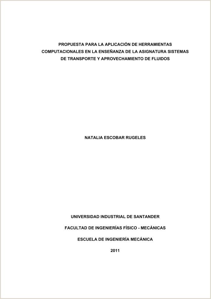 propuesta para la aplicaci³n de herramientas putacionales en
