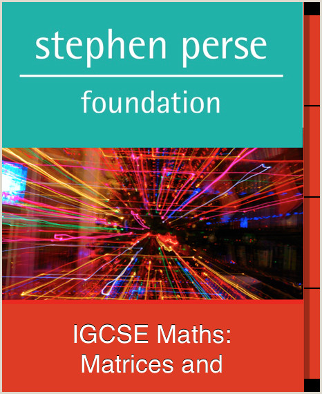 IGCSE Maths Matrices and Transformations Curso gratuito
