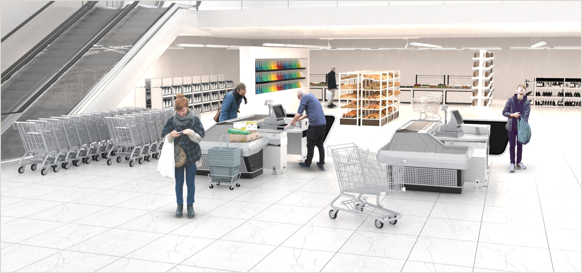 Sistema de Iluminaci³n LINEAL OD 5950 LED para Supermercados