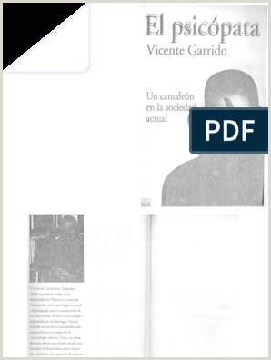 Descargar Hoja De Vida En Pdf El Psicopata Vicente Garrido Pdf