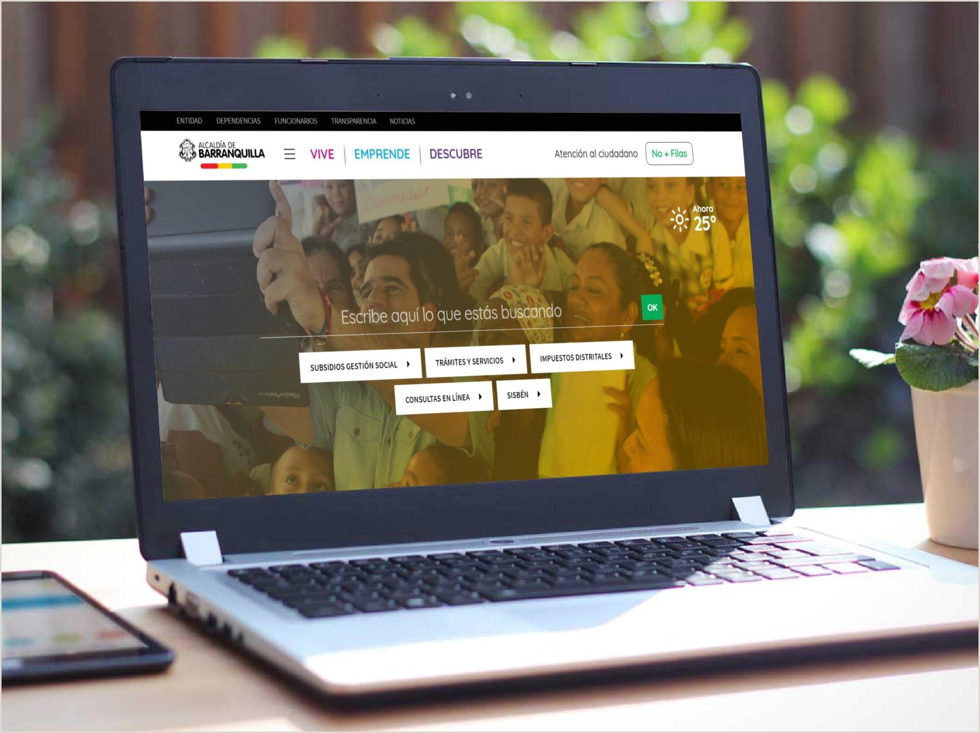 La Capital de Vida estrena sitio web redise±ado – Alcalda