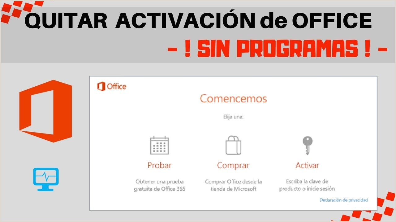 "Descargar Hoja De Vida En Word 2012 [2019] O Quitar ""probar Prar Activar"" Fice 2016 2017 2019 365 Sin Programas"