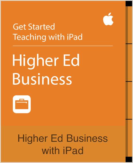Higher Ed Business with iPad Curso gratuito de Apple