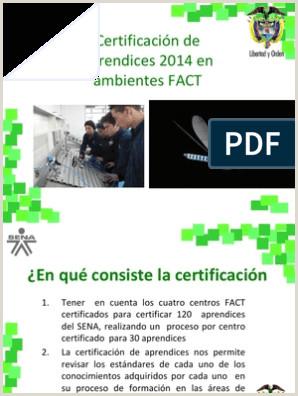 Certificacion de Aprendices FESTO
