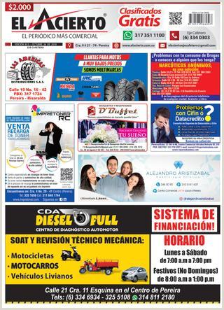 Pereira 813 26 de Octubre 2018 by El Acierto issuu