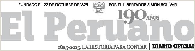 El Peruano Aprueban Reglamento de la Ley N° Ley de