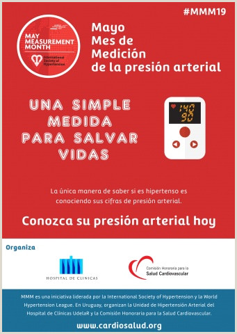 Mayo Mes de Medici³n de la presi³n arterial MMM19