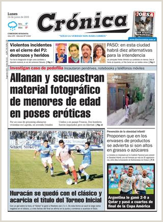 Diario cronica 24 06 2019 by Diario Cr³nica issuu