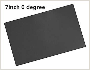 2pcs pantalla LCD polarizador pelcula de polarizaci³n